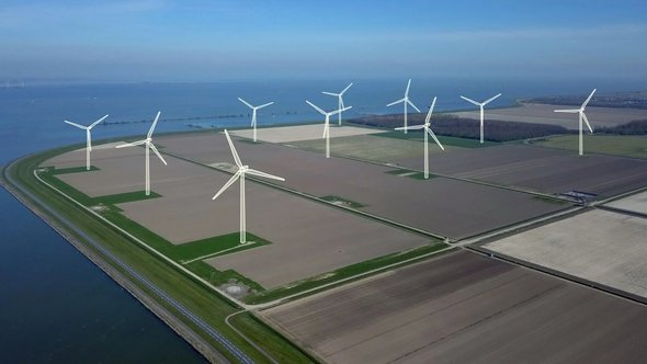 This is what the wind farm will look like in the near future (Image: Jorrit Lousberg via Vattenfall)