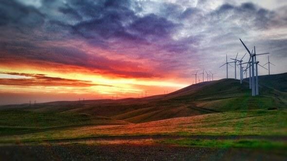 Bild: Leeward Renewable Energy