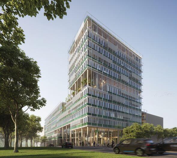 1. Platz: Spengler Wiescholek Architekten Stadtplaner, Hamburg (Alle Bilder: UmweltBank)