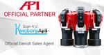 Neue Partner für 3D-Messtechnik in Dänemark: API und KvejborgApS