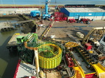 Global Offshore welcomes new cable carousel at the Port of Blyth