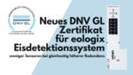 Schnellere Amortisation durch neues DNV GL Zertifikat für eologix Eiserkennungssysteme