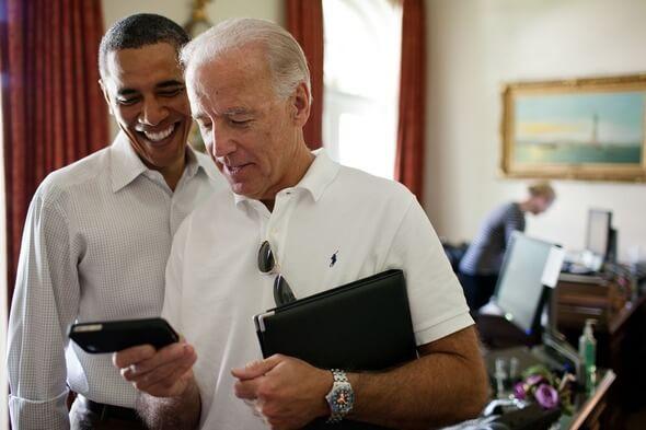 Joe Biden (rechts) und der letzte demokratische Präsident Barack Obama (Bild: Pixabay