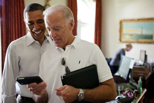 Joe Biden (right) and the last Democratic President Barack Obama (Image): Pixabay
