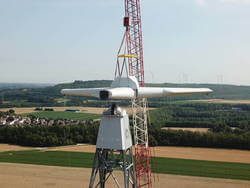 The wind turbine Vertical Sky® (Image: Agile Wind Power)