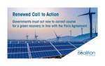 Führende Erneuerbare-Energien-Akteure fordern von Regierungen eine Neuausrichtung der Wirtschaftshilfen im Einklang mit dem Pariser Abkommen