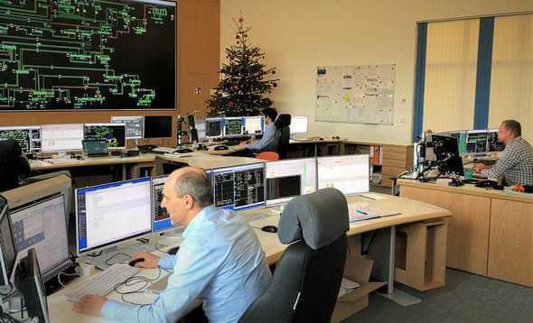 Das Control Center von 50Hertz steuerte den Anfahrversuch (Bild: 50Hertz)