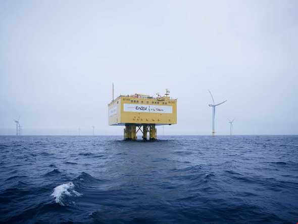 Technischer Pionier für ein Offshore-Netz in der Ostsee - die Combined Grid Solution CGS (Bild: Jan Pauls / 50Hertz)