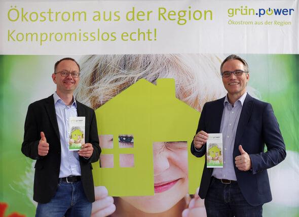 Matthias Roth und Josef Werum, die beiden Gründer und geschäftsführenden Gesellschafter (Bild: in.power)