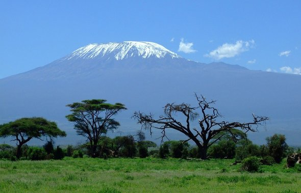 The potential for renewable energy in Africa is infinite: View of Mount Kilimanjaro (Image: Pixabay)