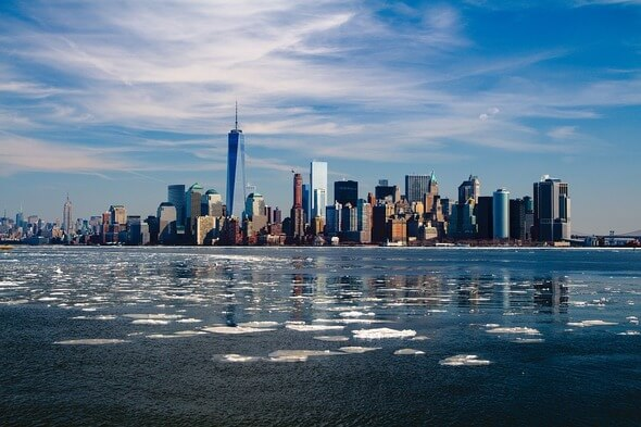 New York City is to be supplied with offshore wind energy in the future (Image: Pixabay)