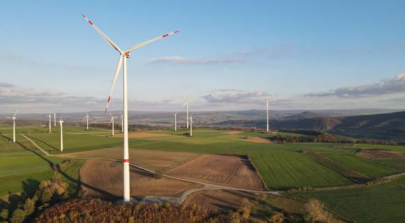 Windpark am Eselsberg (Bild: NATURSTROM AG)