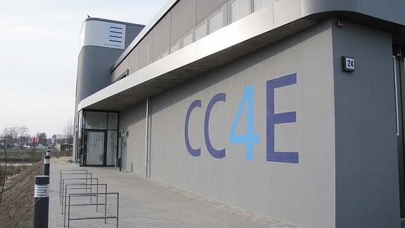 Blick auf den Energie-Campus in Curslack vom CC4E (Bild: CC4E)