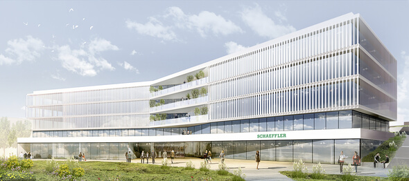 Schaeffler to build state-of-the-art laboratory complex at Herzogenaurach campus (Image: Schaeffler)