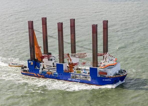 Image: MPI Offshore / Van Oord