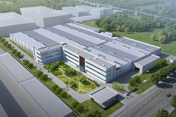 The new building (preview image) located near Taihu Lake in Wuxi (Image: HAWE Hydraulik)