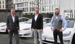 The management of the Trident project at RTS Wind AG, f.l.t.r. Stefan Lücking, Ivo Lippe and Jerome Lippe (Image: RTS Wind AG)