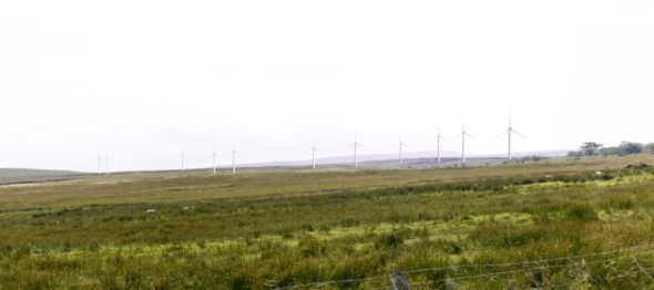 Prposed Corlacky Hill Wind Farm (Image: RES)