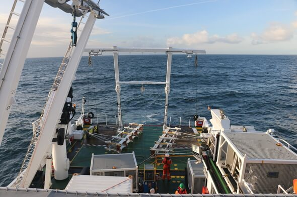 Marine survey ship from Fugro (Image: Fugro)