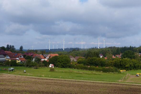 Realitätsnahe Vorab-Visualisierung von Windenergieanlagen (Bild: Ramboll Deutschland GmbH)