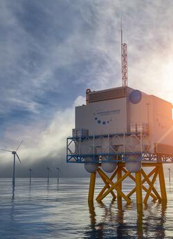 Windwasserstoff ist das Schwerpunktthema der HUSUM Wind 2021 (Bild: Husum Messe)