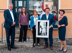 Jörn Otto, Sabine Meyer, Katrin Katzung, Prof. Christian Held und Bianca Engel (Bild: BBH)