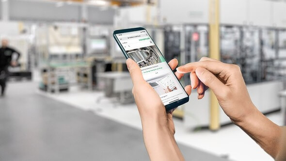 Schaeffler has optimized its medias online product catalog with new content and functions as well as a responsive new design (Image: Schaeffler AG)
