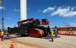 Mammoet introduces specialized crane for Brazilian wind energy market