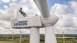 The retrofitted turbines includes the type Vestas V112 (Image: Deutsche Windtechnik)