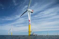 Deutsche Windtechnik leistet seit einem Jahr den kompletten Service für den Offshore Windpark Nordergründe (Bild: Deutsche Windtechnik)