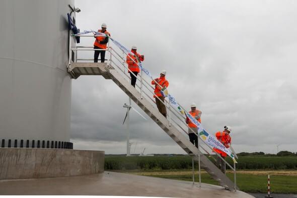 Bild: Windpark Zeewolde