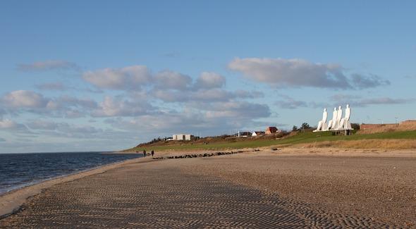 Strand in der Nähe von Esbjerg (Bild: Pixabay)