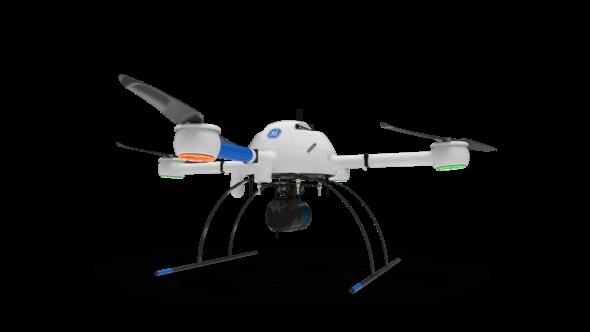 Als neuestes Modell der GE-Industriedrohnenreihe ermöglicht der mdLIDAR1000LR Anwendern die Erstellung und Pflege digitaler Zwillinge ihrer Anlagen und Projektstandorte (Alle Bilder: Microdrones)