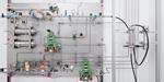 Europäisches Forschungsprojekt zur Wasserstoffabtrennung: Pilotanlage zum Testen von Membranen für die Trennung von Erdgas und Wasserstoff steht bereit