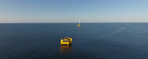 SEM-REV offshore test site (Image: Centrale Nantes)
