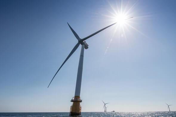 The Hywind Scotland floating wind farm (Image: Michal Wachucik/Abermedia - Equinor ASA)