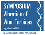 """Ankündigung der internationalen Fachtagung """"Vibration of Wind Turbines"""" am 30.09. und 01.10.2021 in Hamburg"""