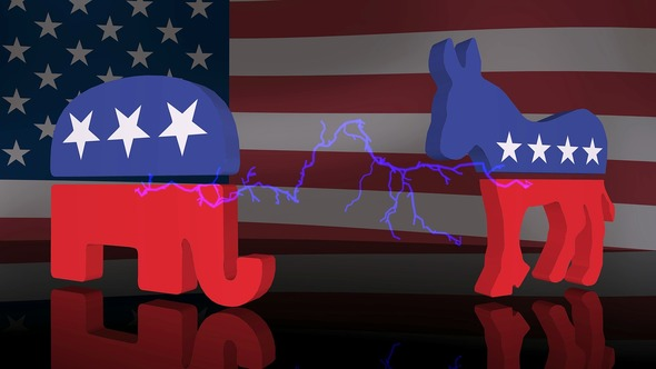 The donkey is the mascot of the Democrats, while the Republicans keep it with the elephant (Image: Pixabay)