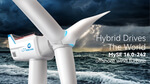 Chinese unveil world's largest hybrid-drive offshore wind turbine