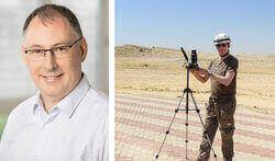 Michael Melsheimer, Geschäftsführer Green Wind Engineering / Test-Unwuchten (Bild: Pablo Castagnola / Green Wind Energy)