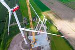 Erste N163/5.X Turbine der Delta4000-Baureihe errichtet