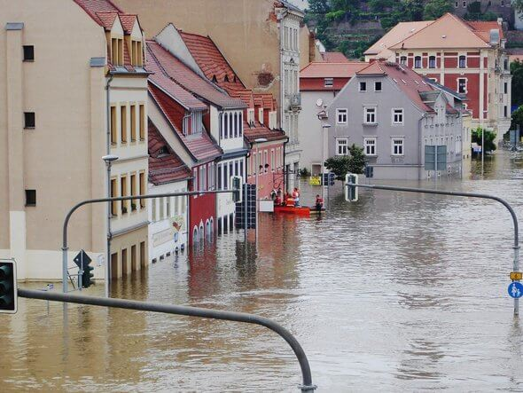 Wie oft kann sich der Staat den Wiederaufbau von zerstörten Gebieten leisten? (Bild: Pixabay)