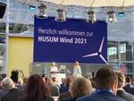 Politikerschelte von der HUSUM Wind 2021