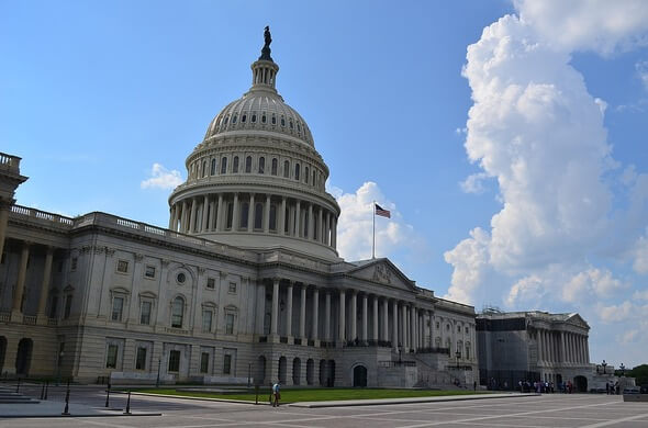 The Capitol in Washington is the seat of the U.S. Congress (Image: Pixabay)