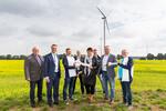 Gemeinde Hoort feiert ihren Windpark