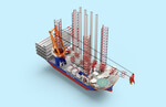 Van Oord orders mega ship to install 20 MW offshore wind foundations and turbines