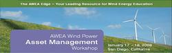 AWEA Wind Power Asset Management Workshop