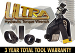 TorcUP Industrial Bolting Tools Launches the ULTRA – Hydraulic Torque Wrench– A 3 YEAR TOTAL WARRANTY TOOL