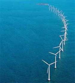 Offshore wind parks