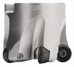 Seco Tools' Power 4 round cutters for turbine blade machining